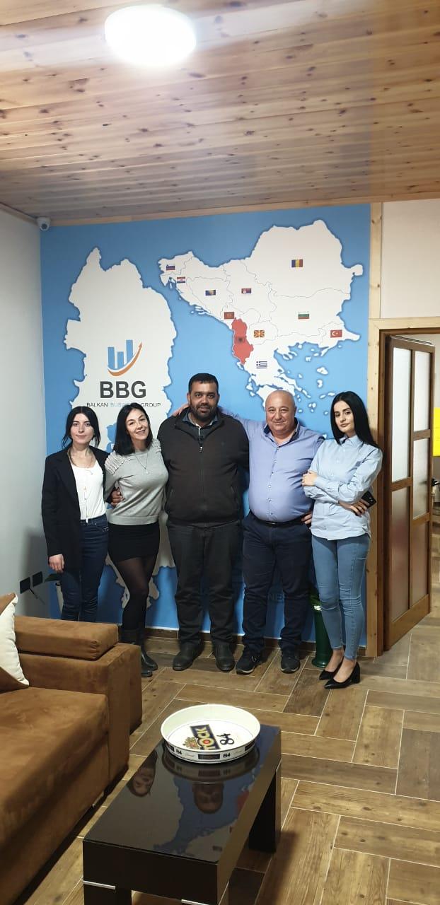 Un altro investimento BLG in Elbasan, inaugurata BBG e Balkan Refund